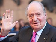 MADRID, SPAIN - JUNE 06:  King Juan Carlos attends La Beneficiencia Bullfight at Las Ventas Bullring on June 6, 2018 in Madrid, Spain.  (Photo by Carlos Alvarez/Getty Images)