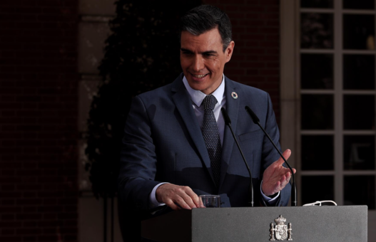 El presidente del gobierno, Pedro Sánchez, - EUROPA PRESS/E. Parra. POOL - Europa Press