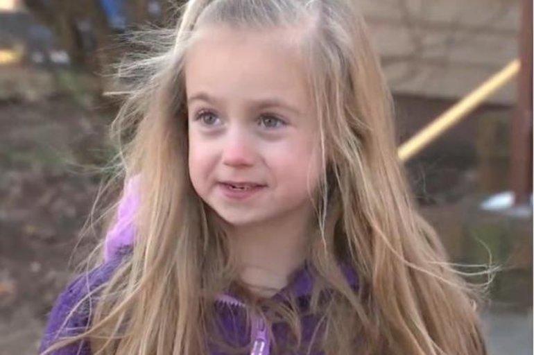 Una niña de seis años salvó a su familia de un devastador incendio ...