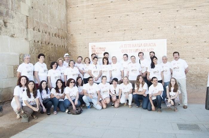 Grupo de colaboradores de los Patios y Cruz Roja