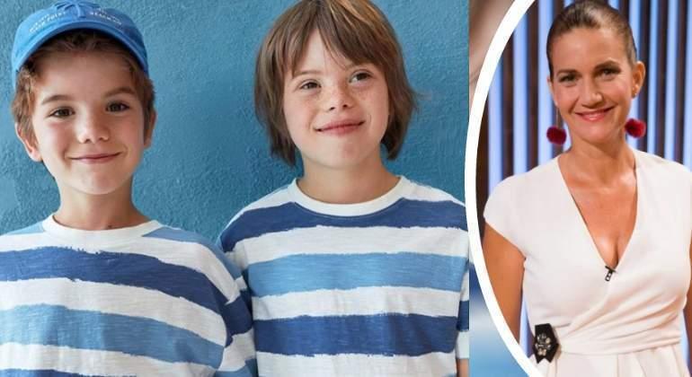 Roscón El Hijo De Samantha Vallejo Nágera Primer Niño Con Síndrome De Down En Hacer De Modelo Para Inditex