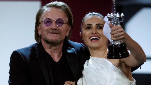 Penélope Cruz Premio Donostia Del 67 Festival De Cine De: Penélope Cruz Recibe El Premio Donostia En El Festival De