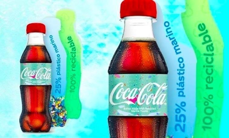 Resultado de imagen para coca cola botella basura de mar