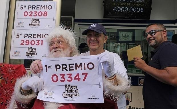 Los premios hasta 20.000 € del Sorteo de Navidad estarán exentos de impuestos este año