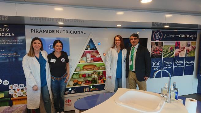 El Hospital San Juan De Dios participa en la caravana ´Act for Food´, taller sobre alimentación saludable