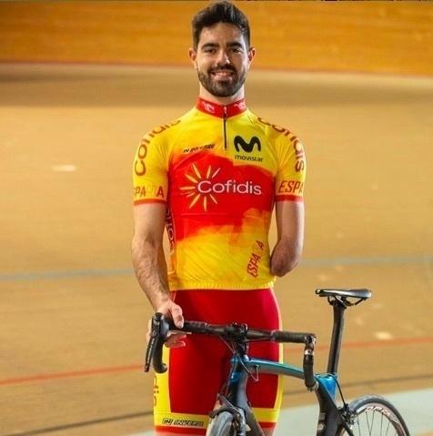 El cordobés Alfonso Cabello, brillante Campeón de España de Ciclismo Adaptado en Pista