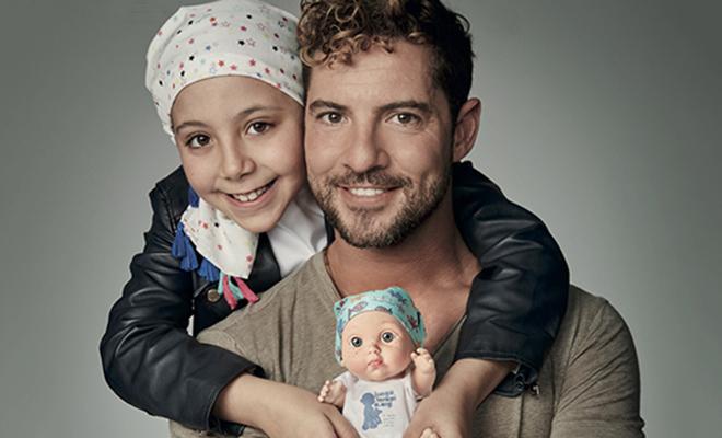 Varios famosos sacan su lado más solidario para colaborar con los niños con cáncer