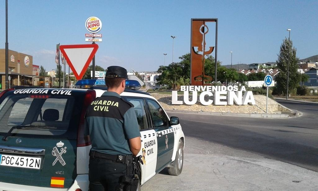 Puesto de la Guardia Civil en Lucena