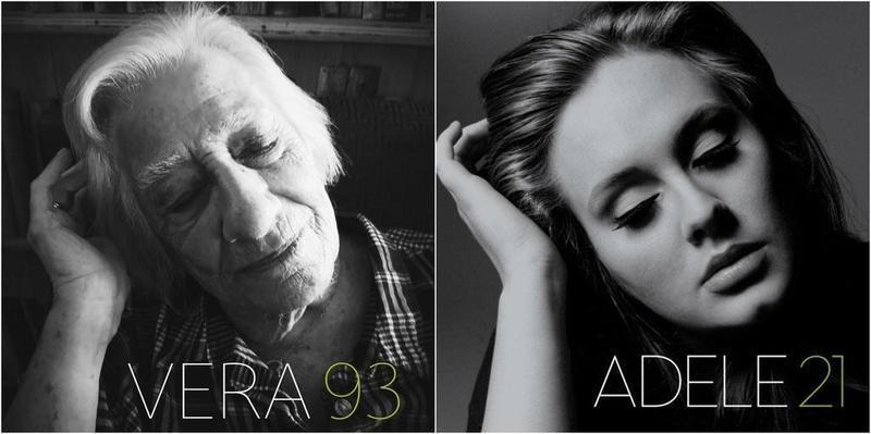Ancianos de una residencia recrean las portadas de los discos más icónicos