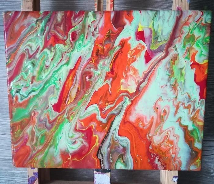 pintura de Wanessa